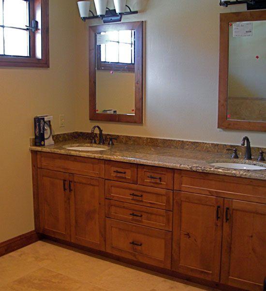 Dark Knotty Alder Kitchen Cabinets: Knotty Alder Cabinets Vanity - Google Search
