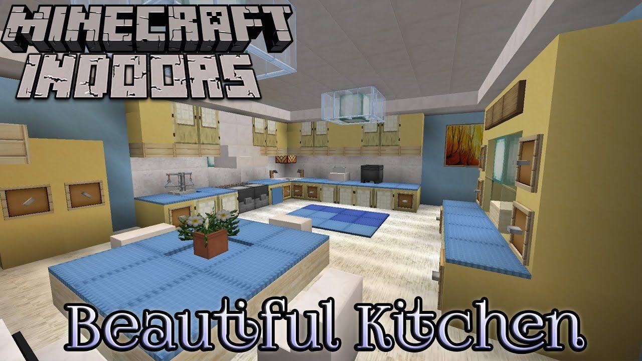 minecraft indoors interior design beautiful kitchen ...