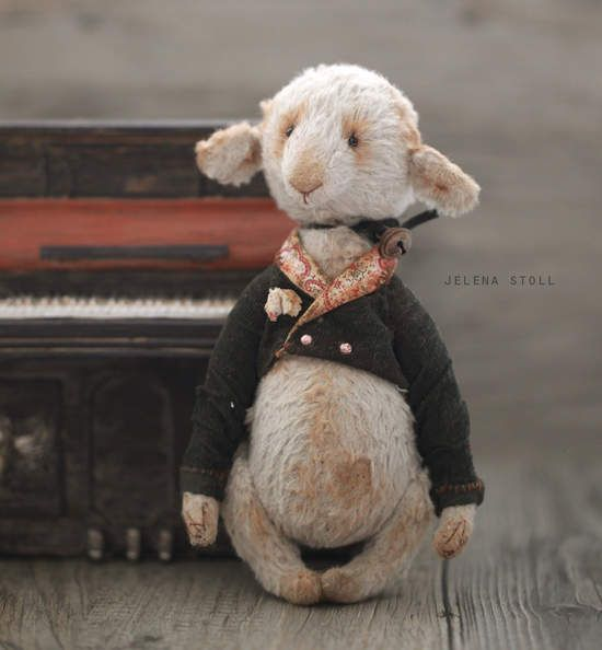 Sheep Levi by By Jelena Stoll | Bear Pile