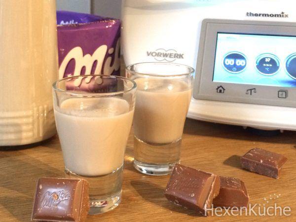 Milka Schokoladen Likör - dieHexenküche.de   Thermomix Rezepte