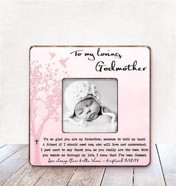 Godmother Gift Baptism Gift Godmother Christening Gift Godmother ...