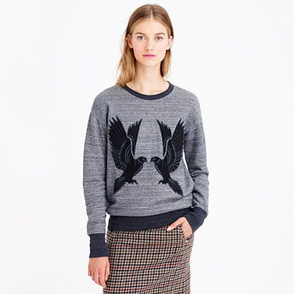 SPECKLED BIRD SWEATSHIRT