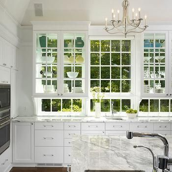 See Through Upper Cabinets Design Decor Photos Pictures Ideas Inspiration Paint Colors And Remod Beautiful Kitchens Kitchen Inspirations Kitchen Design
