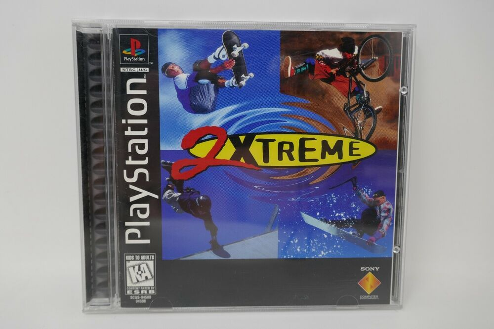 2Xtreme (Sony PlayStation 1, 1997) COMPLETE Sony Sony