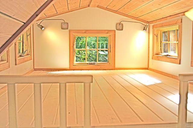 Dormer Loft Cottage By Molecule Tiny Homes: Charwood Cabin. 8x20.8x8 Loft, 3x8 Loft $55k. We Used A