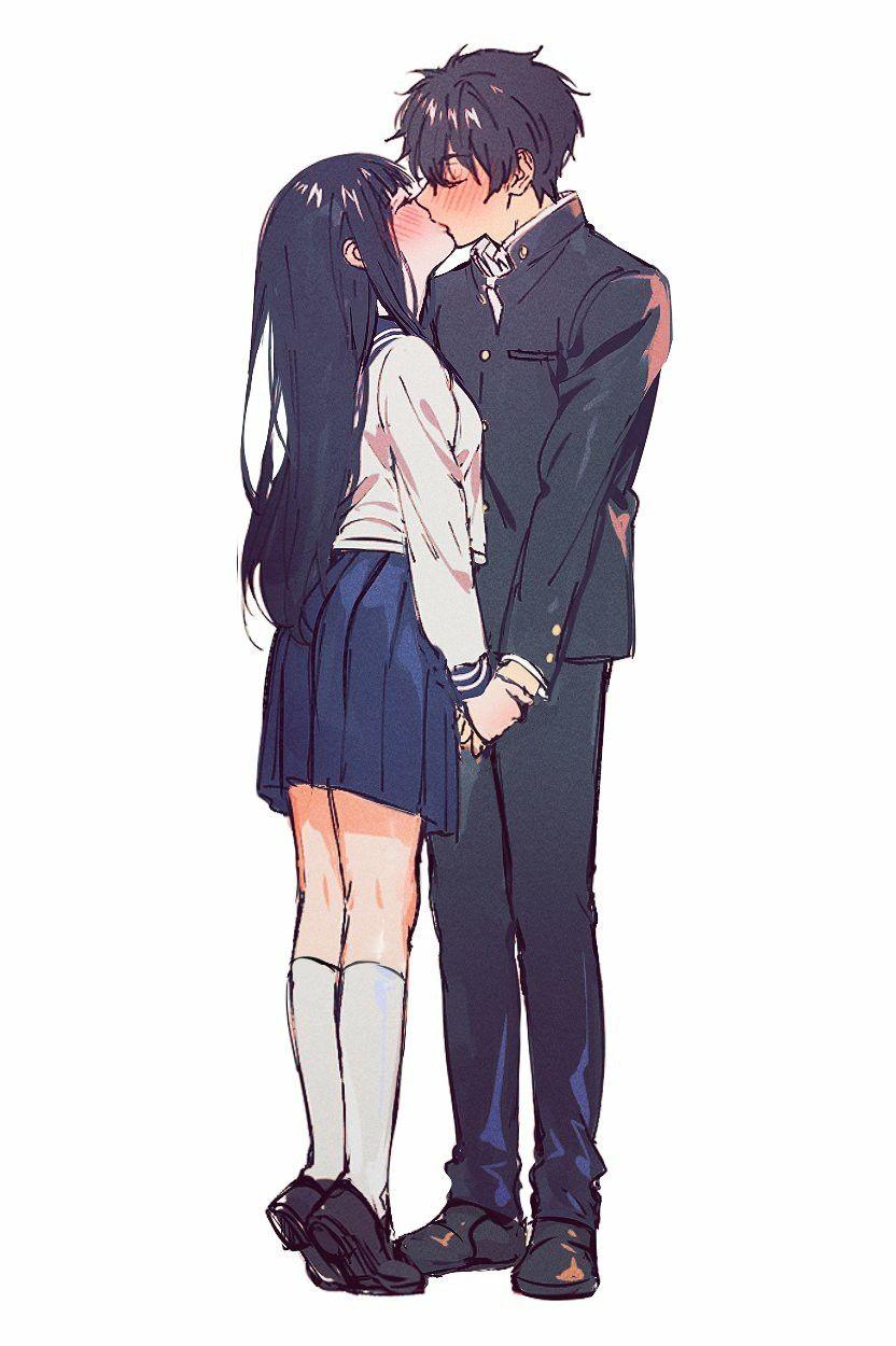 Cute Anime Couple Drawing Ideas