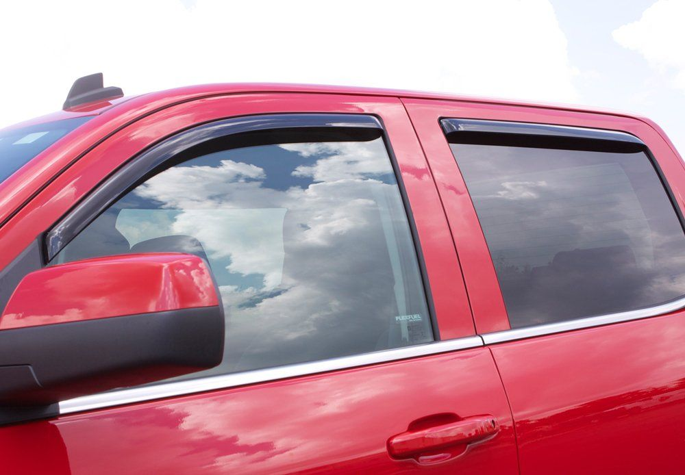 Auto Ventshade 194166 Inchannel Ventvisor Window Deflector 4 Piece Click On The Image For Additional Details I Side Window Crew Cab 2017 Chevrolet Equinox
