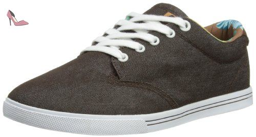 Globe GS, Chaussures de Skateboard Homme - Gris (Black Chambray/White), 44 EU