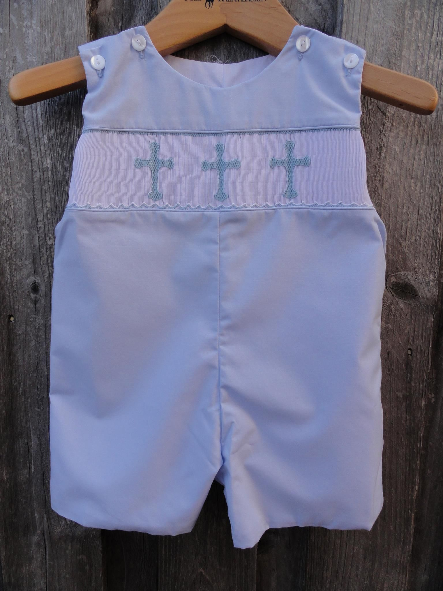 Cross Smocked Jon Jon Kids Clothes Pinterest