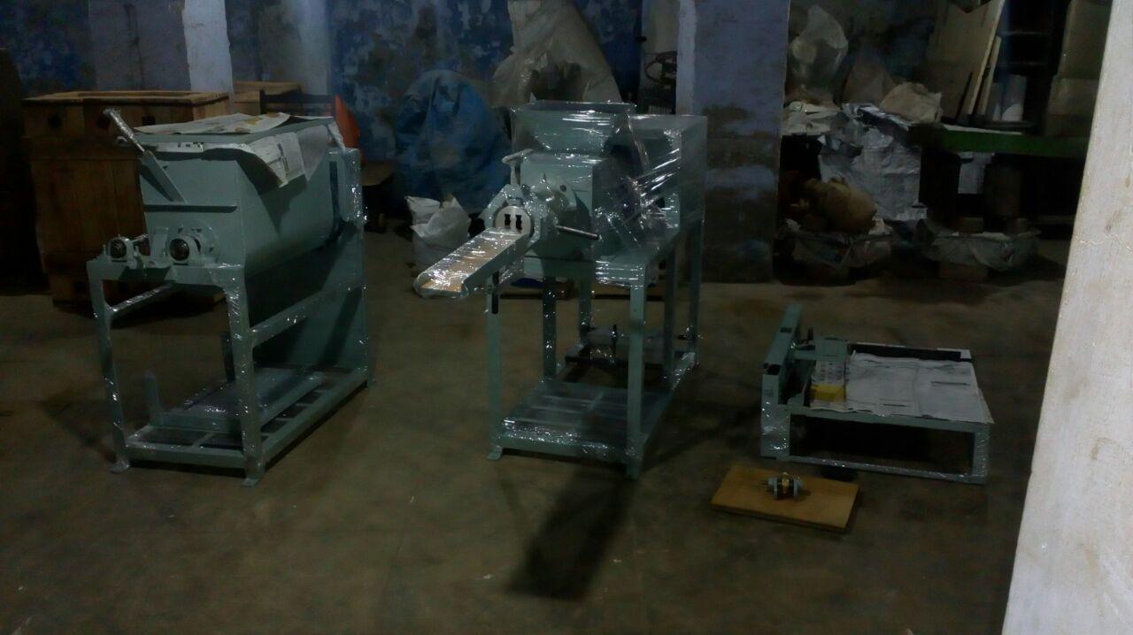Nirma Washing Soap Making Machine Atom Machinery Mfg. Co. Working ...