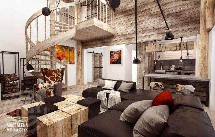 #wood Kilka pomysłów na drewno w domu - przegląd inspiracji - Myhome