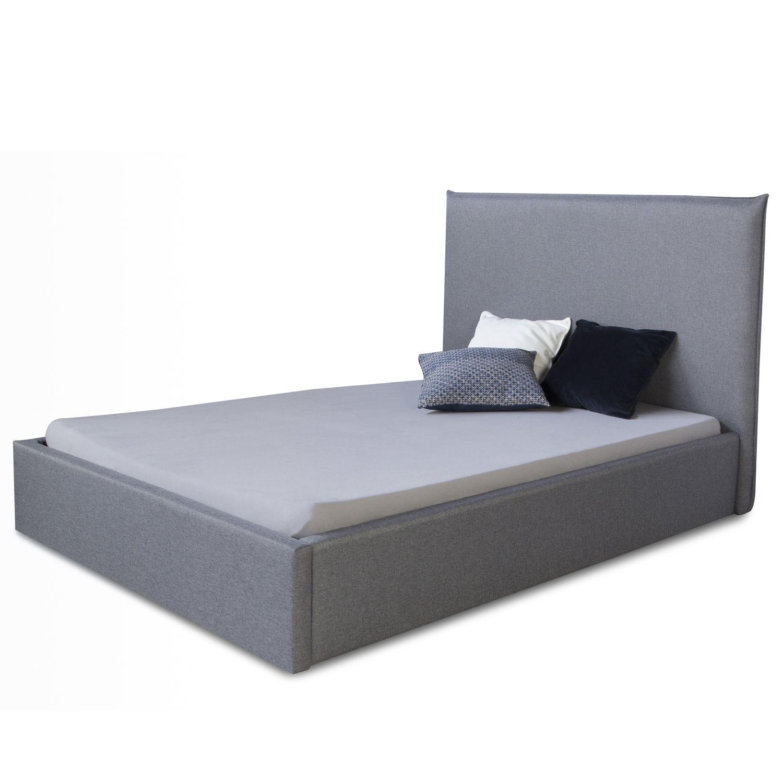 Polsterbett 140 X 200 Cm Grau Doppelbett Futonbett Bettgestell Bett In 2020 Designer Bett Polsterbett Bettgestell
