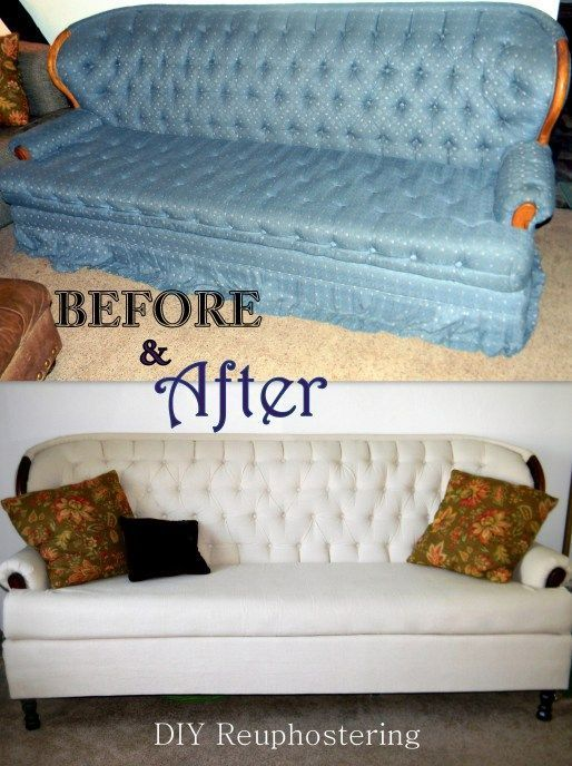 How To Recycle My Sofa Wooden Furniture Design Diy Couch Reupholstering This Is Genius I Think Will Try With