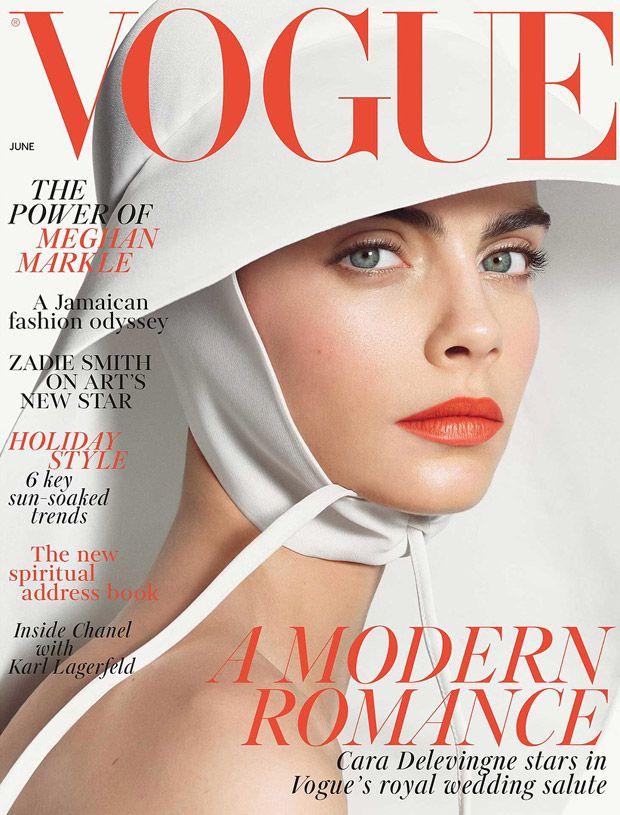 2e15ba25c Cara Delevingne | Revistas | Magazines - 2019 | Revista vogue, Capas da  vogue 및 Vogue