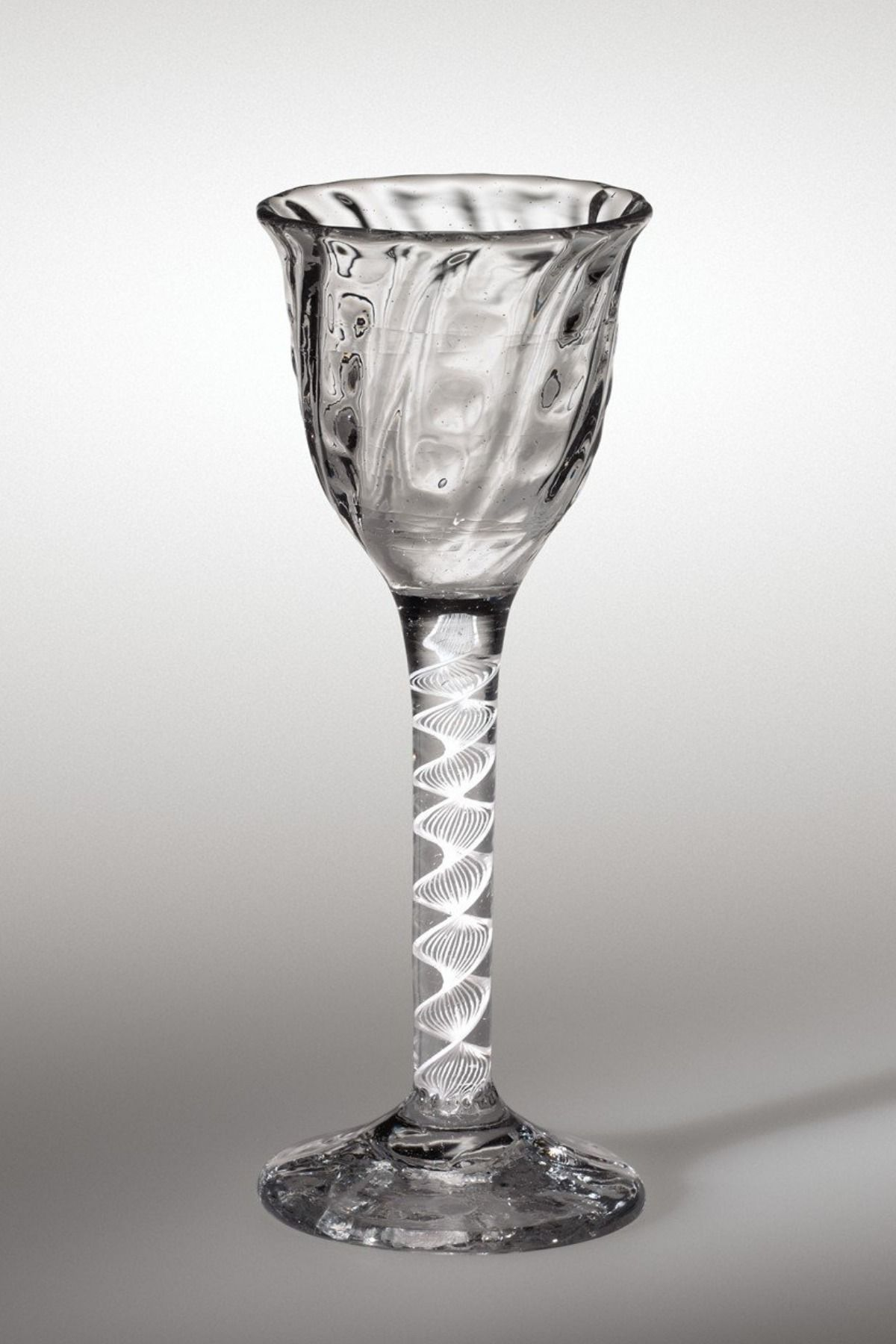 Rare Wine Glass from 1760 to be Offered At Bonhams sale