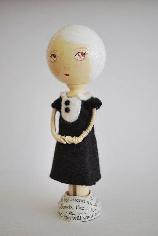 Spool Doll Mary Beth