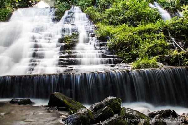Photo Wallpaper Cascade Forest River Sillans La Waterfall Sian