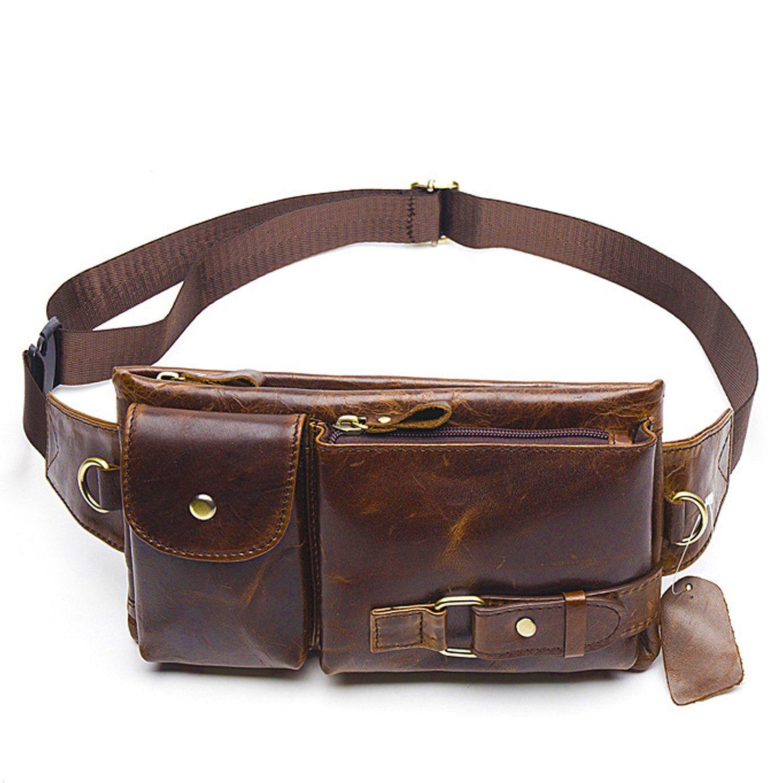 d5f788b003 Waist Packs Fanny Pack Belt Bag Waist Pouch Belt Genuine Leather Waist Bag  Cute Fanny Pcks
