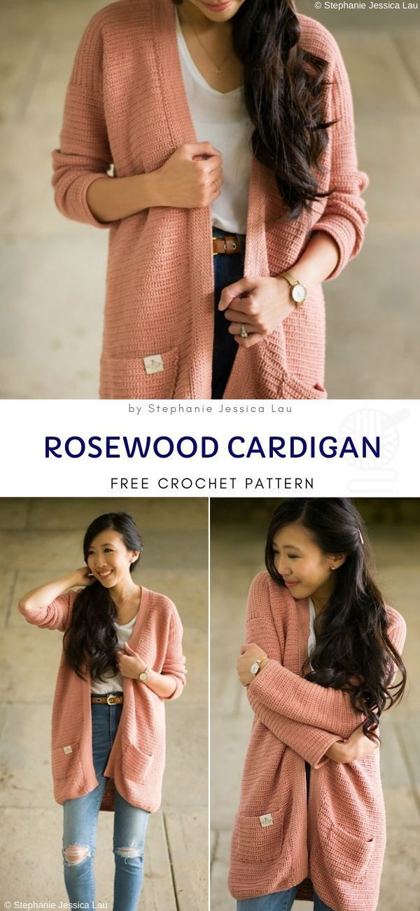Cute Cardigans Crochet Patterns FREE