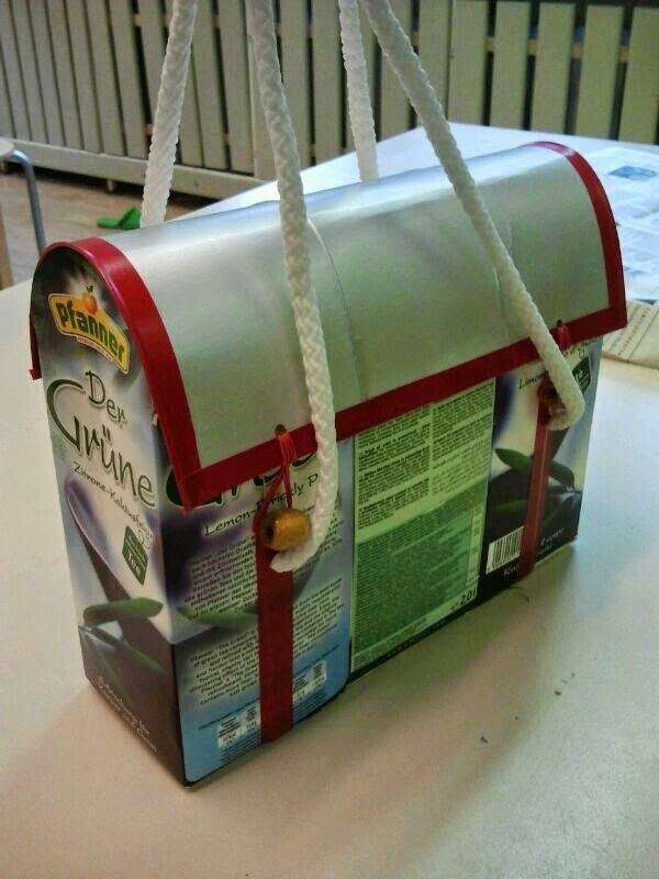 tasche tetrapack pinterest basteln taschen und upcycling. Black Bedroom Furniture Sets. Home Design Ideas