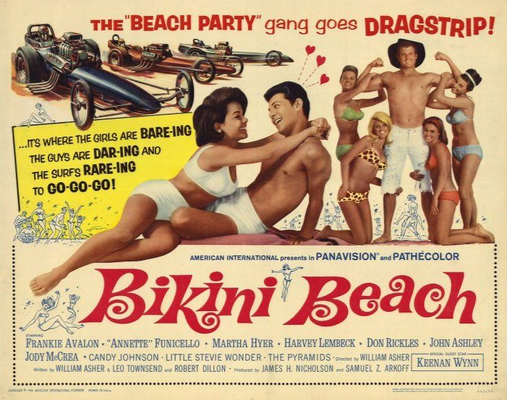 Image result for bikini beach movie poster