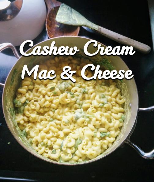 Cashew Cream Mac & Cheese – Homestead Herbivore