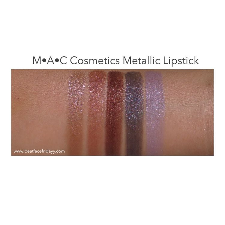 Metallic Lips Lipstick by MAC #9