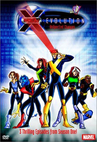 Volume 1 Of 4 From Season One Of X Men Evolution Animated Series Includes Episodes 1 3 X Men Cartoon Shows Cartoon