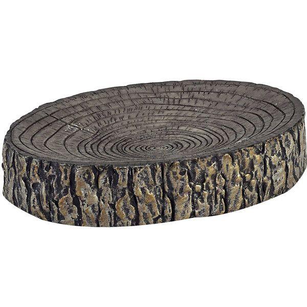 Avanti Mossy Oak Tree Bark Soap Dish 21 Cad Liked On Polyvore Featuring
