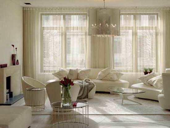 Sheer Curtain Ideas For Living Room | Ultimate Home Ideas | White ...