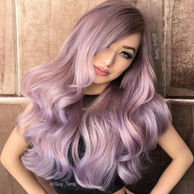 Repost From Guytang I Did Nycdragun Hair Color Today With Her New
