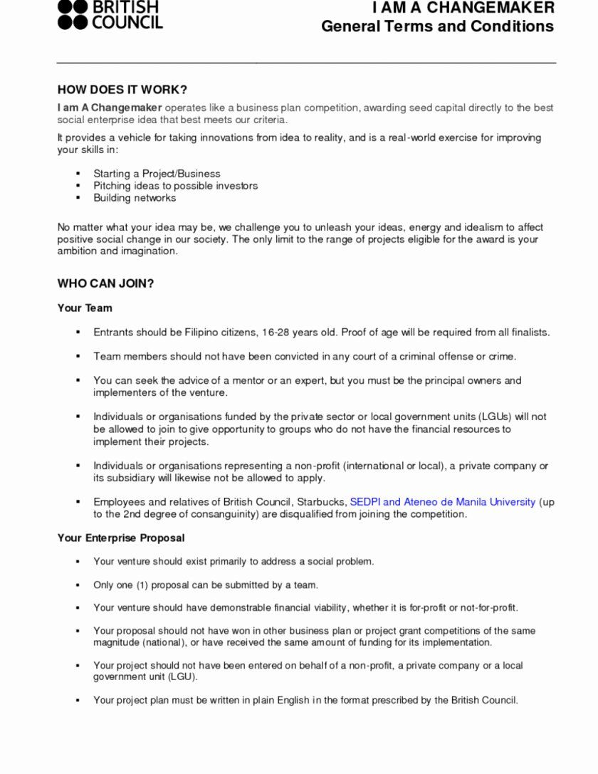 Business Plan Template For Restaurant And Bar Unique Business
