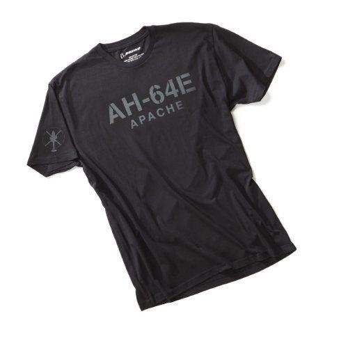 Ah 64e Apache Stencil T Shirt Long Sleeve Tshirt Men T Shirt Shirts