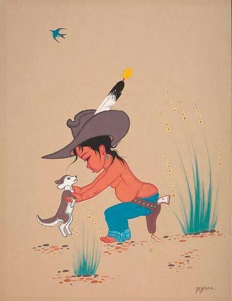 Navajo boy