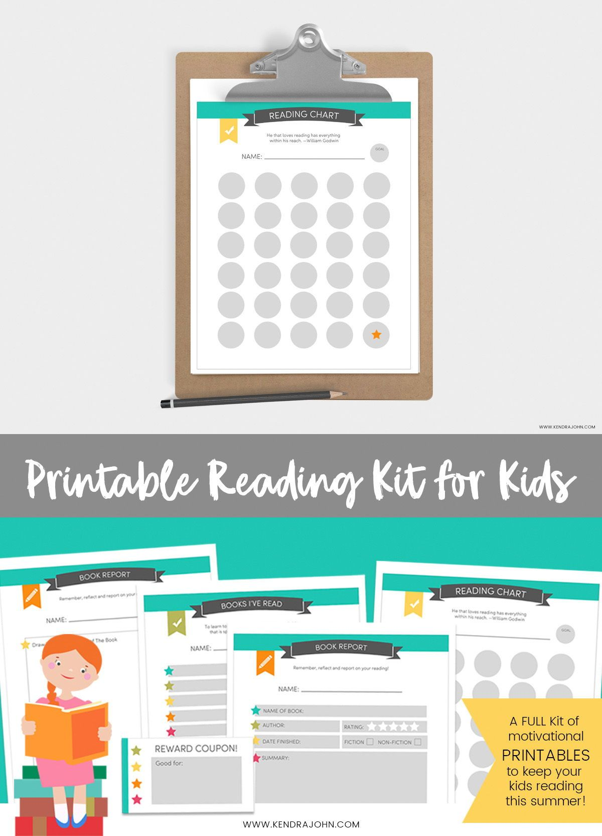 Printable Reading Kit For Kids Freeprintable