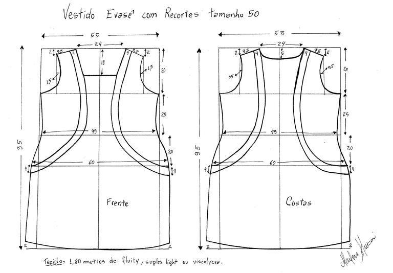 Revista Manequim - Curso online ensina a tirar molde de roupas plus size