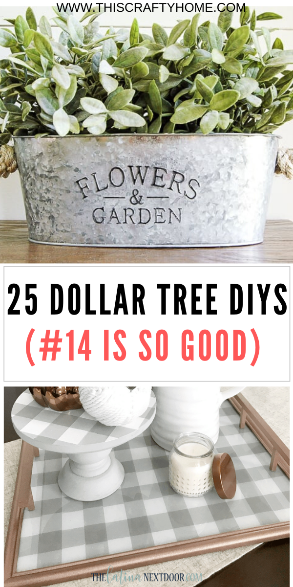 Photo of 25 Dollar Tree DIY's (That will make your farmhouse dreams come true)