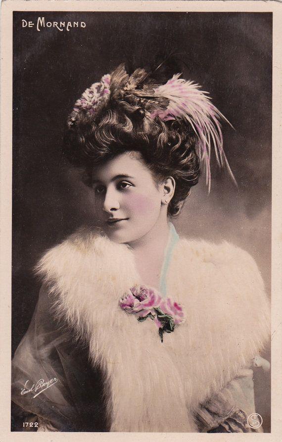 French Film Actress Louisa De Mornand by Paul Boyer circa 1906
