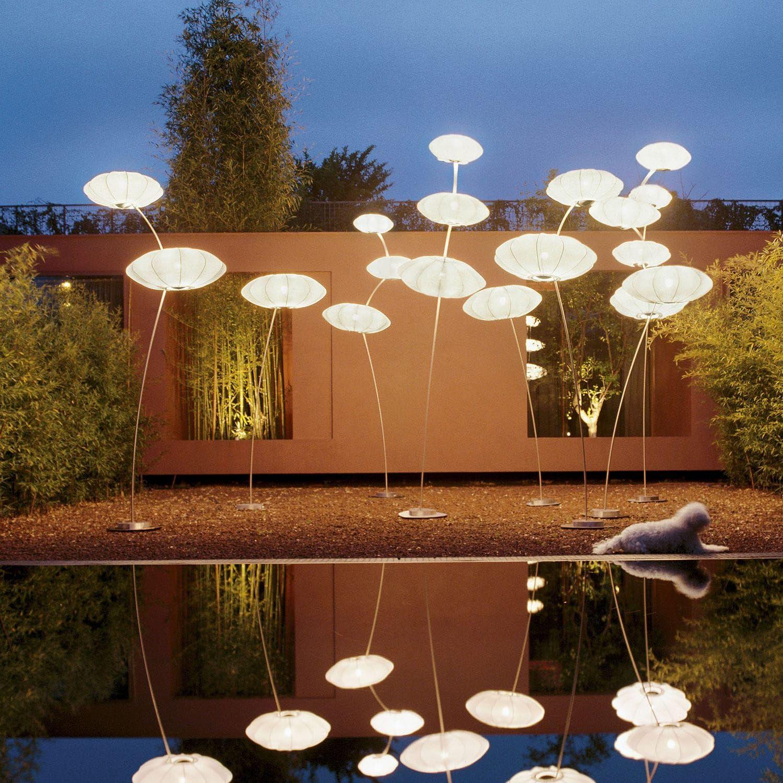 Floor Standing Lamp Original Design Outdoor Fabric Nuvola X