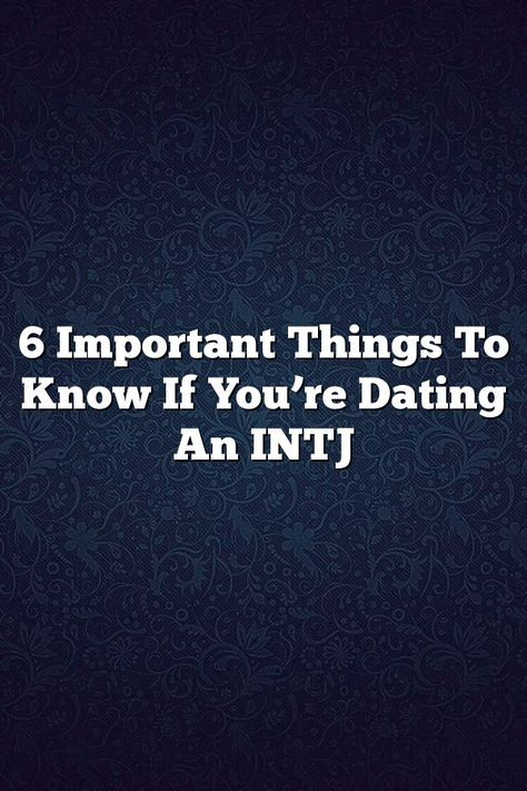 Istj and intj dating sites