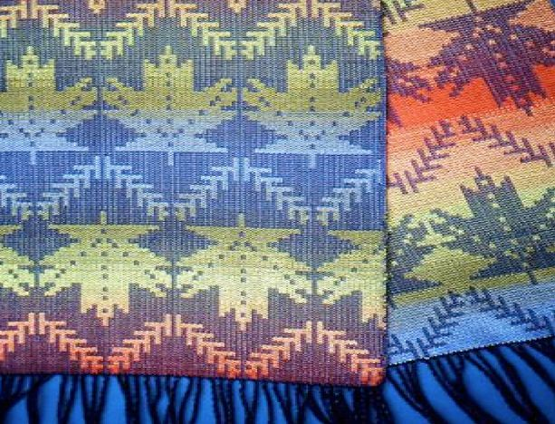 Weave Summer & Winter on 4 Shafts with Mary Bentley | FibreWorks Studio & Gallery