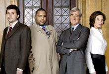 Law Order Jeremy Sisto Anthony Anderson Sam Waterston Alana De