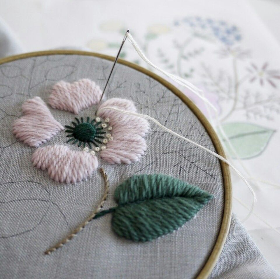 Pin by caroline chang on 樋口愉美子 pinterest embroidery