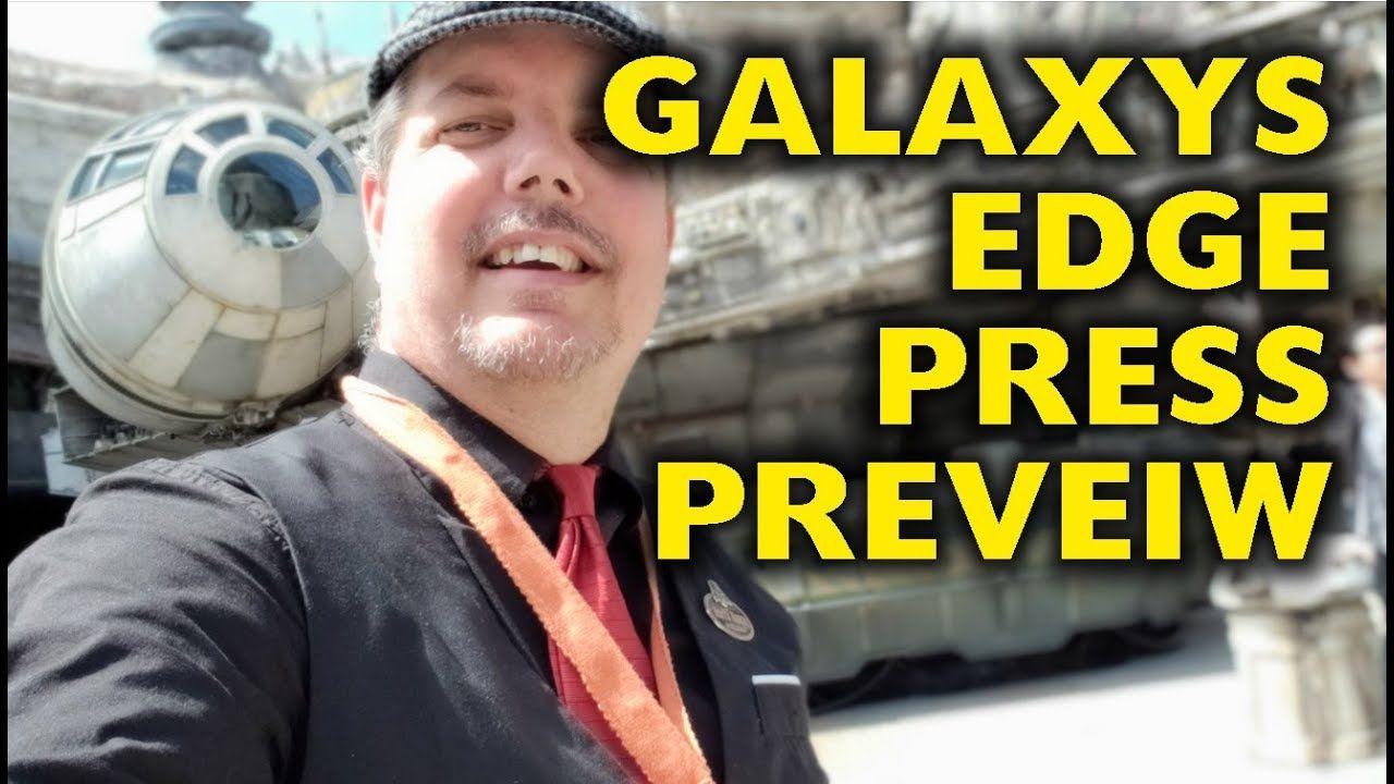 Star Wars: Galaxys Edge Press Preview Trip Report