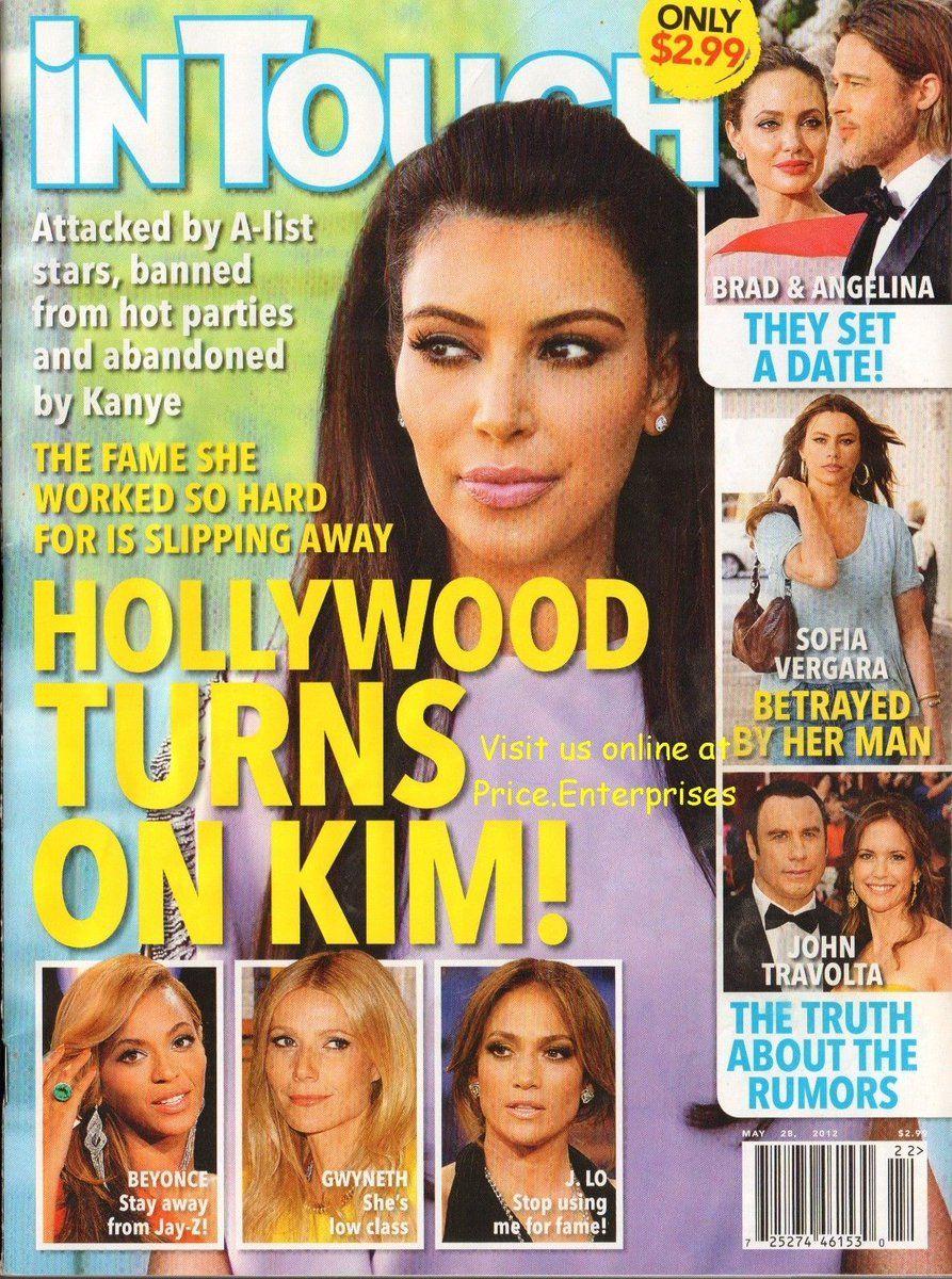 #Popular - In Touch Magazine May 28 2012 Hollywood Turns On Kim! Kardashian FREE SHIPPING  http://dlvr.it/NcHJTJ - http://Ebaypic.twitter.com/xRrdlAEwn2