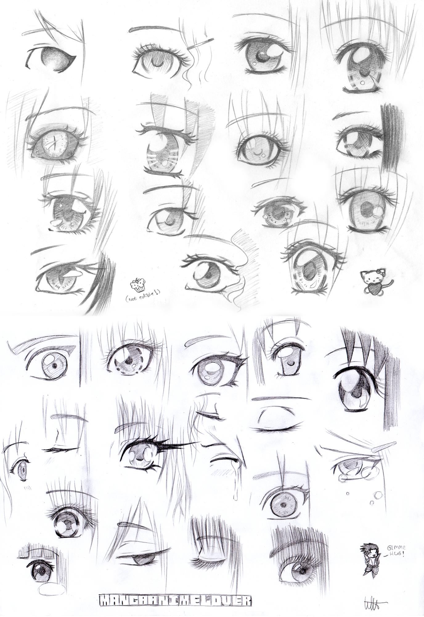 More manga eyes by mangaanimelover deviantart com