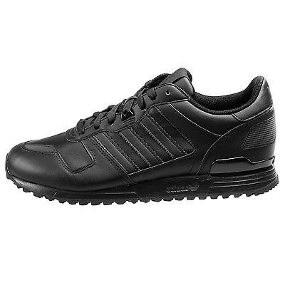 Odio físicamente víctima  Adidas ZX 700 Mens S80528 Black Leather Nubuck Athletic Running ...