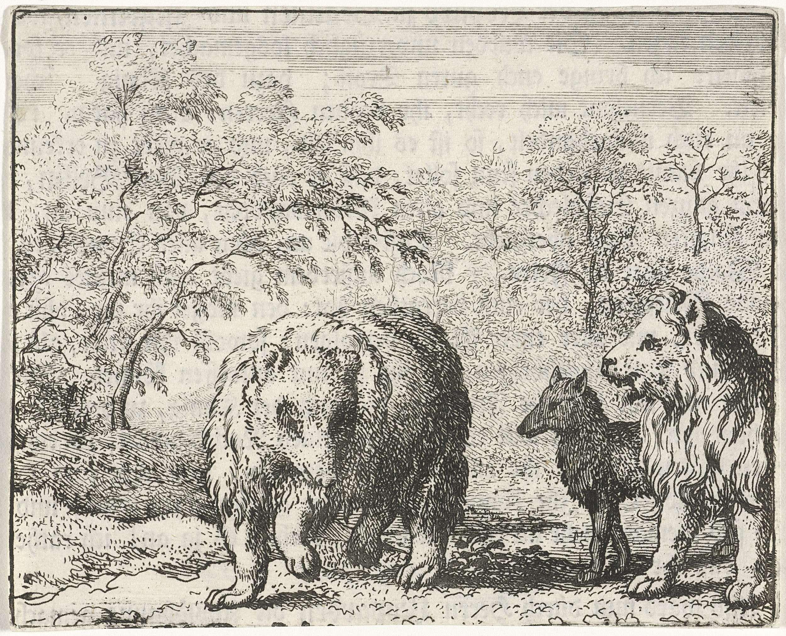 Citaten Uit Reinaert De Vos : Allaert van everdingen isengrijn de wolf en bruun