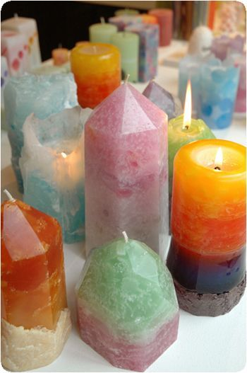 How to make Homemade Candles #candles
