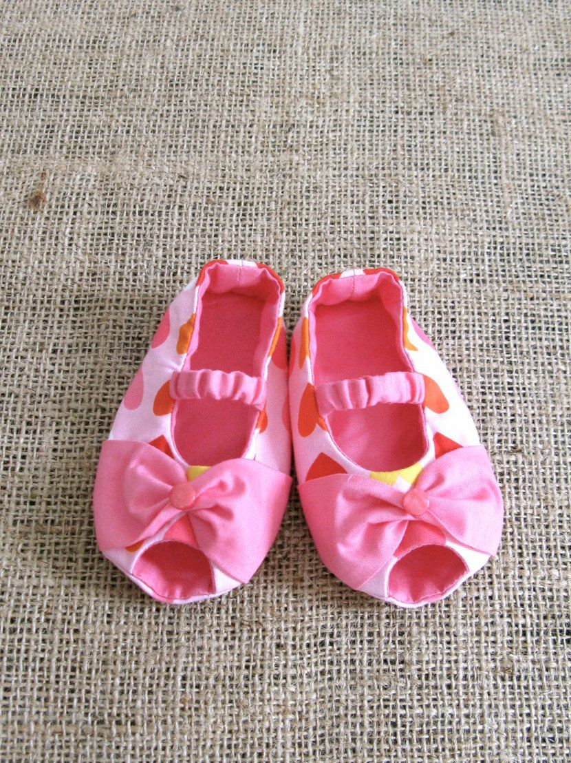 Bowie Baby Shoes - PDF Pattern - Newborn to 18 months. | Baby Things ...